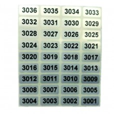 Serial Number Sticker