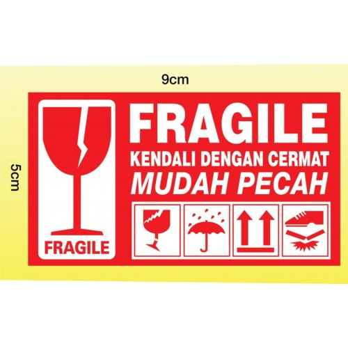 Fragile Label  G