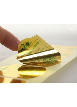 Gold Color Sticker